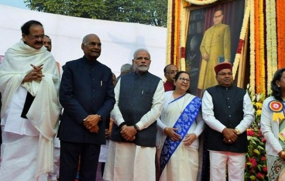 Nation pays homage to Ambedkar