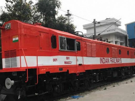 Railways create history by converting diesel locomotive to electric traction