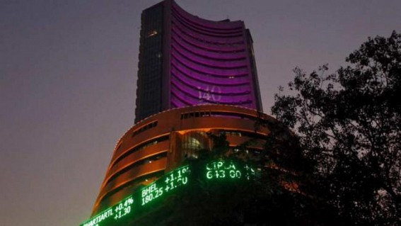 Sensex tanks 572 points over oil output cut fears, weak rupee