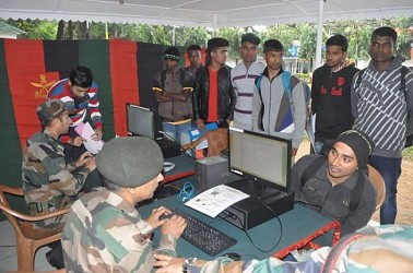 Workshop for students organized by Assam Rifles. TIWN Pic Dec 18