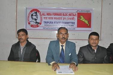 All India Forward Bloc (Netaji) constituted in Tripura. TIWN Pic Dec 19