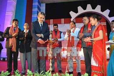 Tripura's 28th Industries & Commerce fair begins at Hapania. TIWN Pic Feb 20