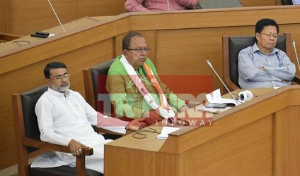 A view of Tripura's first Assembly after Election. TIWN Pic March 23