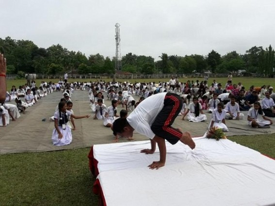 Assam Rifles organizes Yoga Camp ahead of 'Yoga Day'