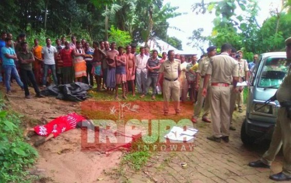Husband kills wife brutally in broad day light