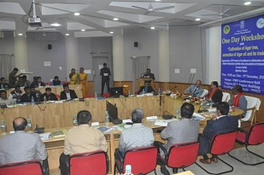 Workshop held on Agar tree cultivation. TIWN Pic Dec 19