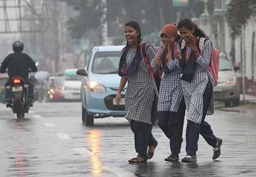 Rainy day at Agartala. TIWN Pic Dec 17