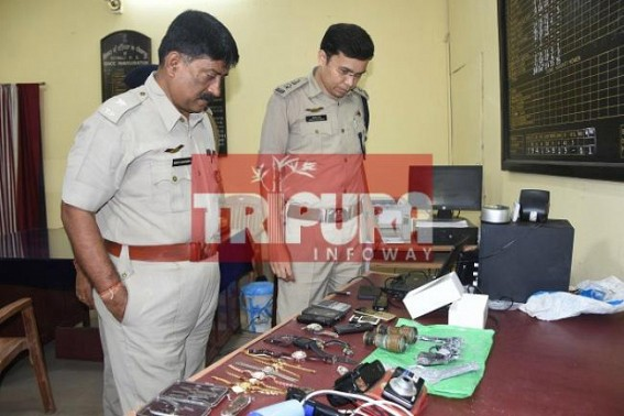 3 arrested in separate searches by West PS : Bikes, pistols recovered