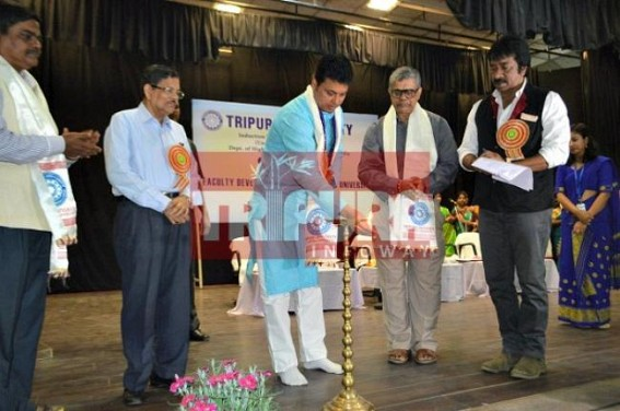 CM inaugurates Faculty Induction Training programme at Tripura Central University