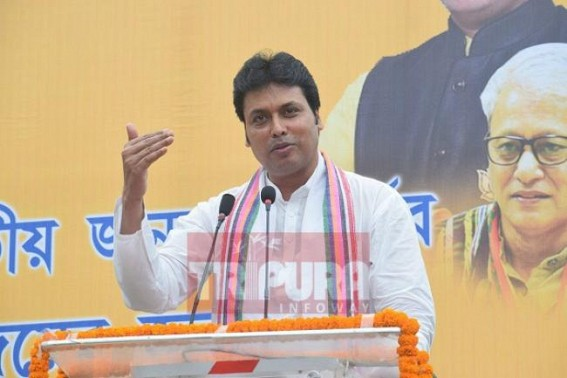 'Everything is free-of-cost under Modi era' : Biplab's JUMLA claim