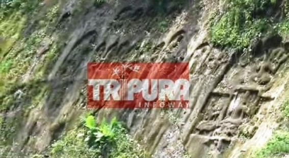 Pathetic condition of Chabimura tourist spot