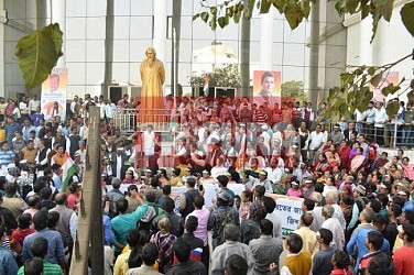 Congress gathered at Rabindra Bhawan. TIWN Pic Jan 18