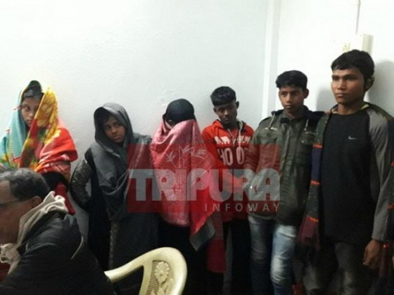 CPI-M turned Sonamura an Islamic Jihadi epicentre : 6 Rohingyas nabbed from Dharmanagar Railway Station entered illegally through Sonamura Indo-Bangla Border