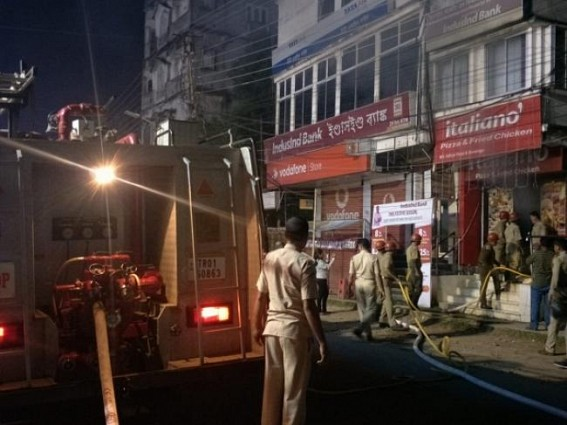 Fire sparked out in RMS Chowmuhani