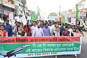Rafale scam symbolized BJP's Fake Desh-Bhakti : Leftist students wing