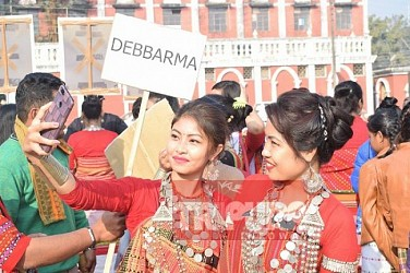 Kokborok day celebrated at Agartala. TIWN Pic Jan 19