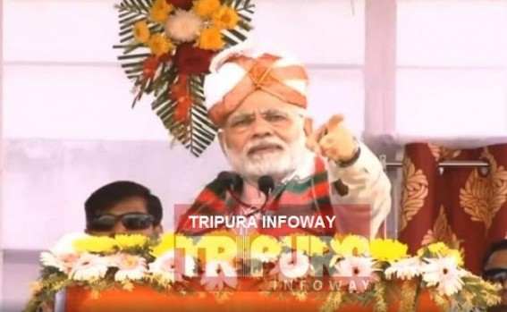 'Before asking reasons of unemployment from Modi, ask your own Govt in Tripura' : Modi tells CPI-M