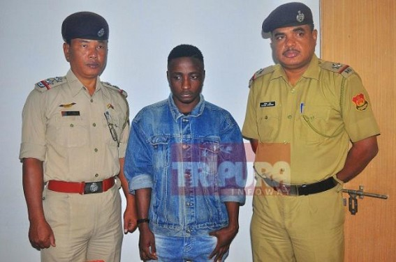 One Nigerian held in Tripura