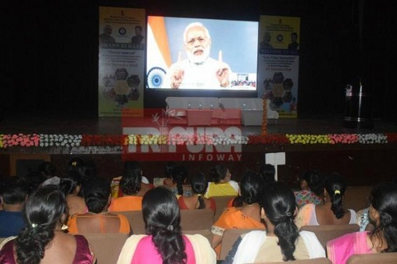 PM Modi interacts with Self Help Group achievers