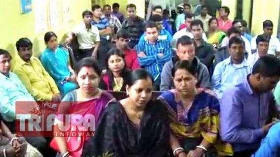 Demand list expanding before BJP Govt : Terminated 156 RMSA staffs demand re-appointments