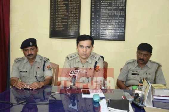 'Inform Police, you have any information against Anti-Social elements' : SP West tells public