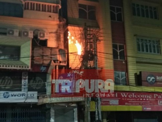 Capital City narrowly escapes from massive fire on Pohela Boishakh night