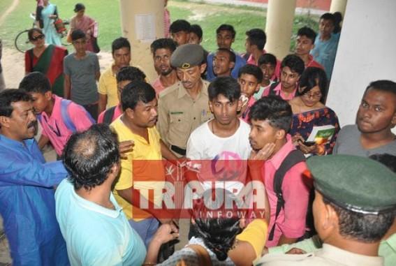 Fight emerged among Class-9 student's Father and Class-12 students at Netaji School