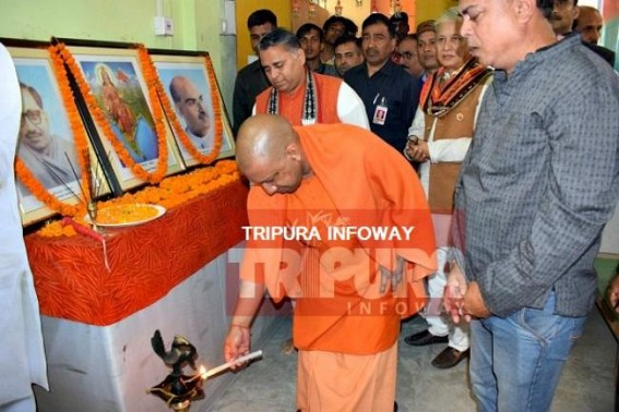 Yogi-Nath throws trump card for Nath-vote banks : 'Reservation for OBC to be introduced in Tripura after BJP in power', says Yogi