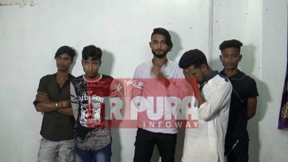 Police rescue Gang-raped minor girl from kidnappers : 5 kidnappers arrested with 3 theft bikes