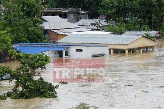 North Tripura flooding : Over 4000 families homeless, State Govt Disaster Management's role remains unsatisfactory