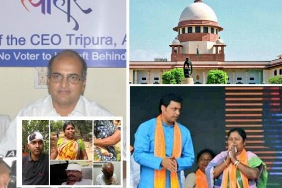 Biplab-Pratima's Criminal Nexus, massive Poll rigging : 'Will appeal in SC to find any option in Indian Constitution to save voting rights due to corrupt State Govt machinery ?', Congress filing case in SC