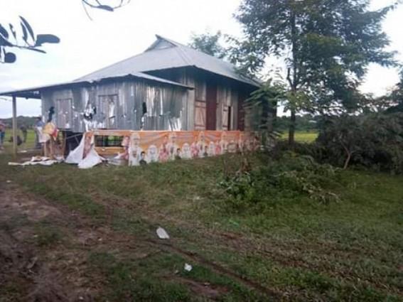 3 hospitalized in Tripura in BJP, IPFT's clash