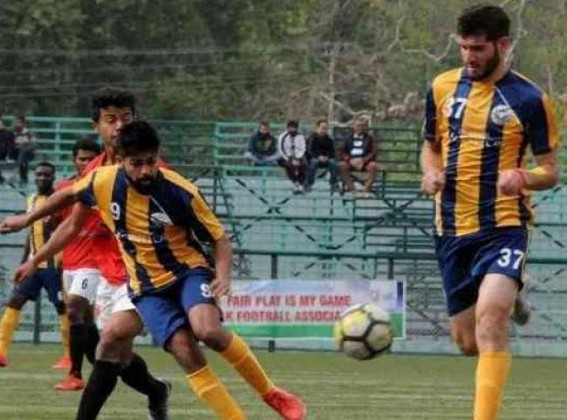 Real Kashmir to face Aizawl FC in I-League tie