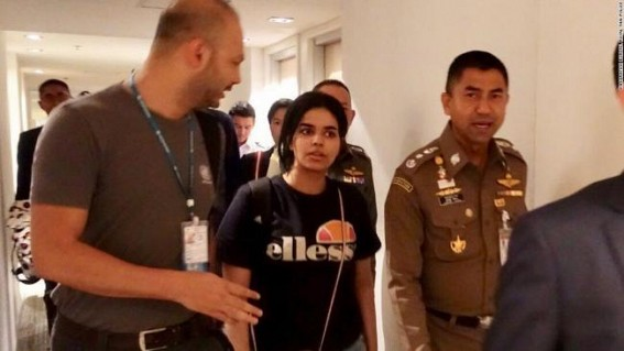 Saudi woman granted asylum in Australia: Thai official