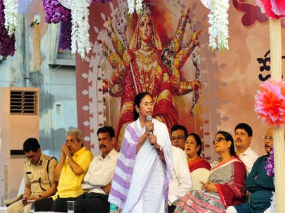 Those trying to stop Durga Puja in Bengal won't be spared: Mamata