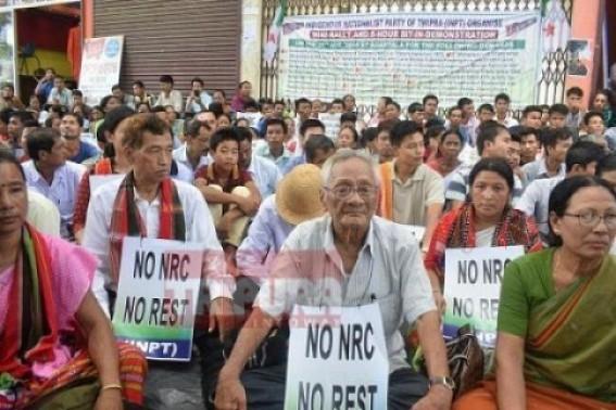 Regional parties call for shutdown in Tripura on Saturday
