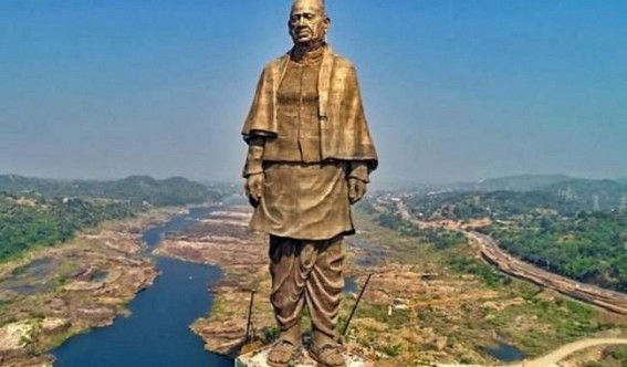 Sardar statue unveiling: Government splurged Rs 2.64 cr in ads