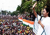 Tens of thousands attend Bengal's mega anti-BJP rally