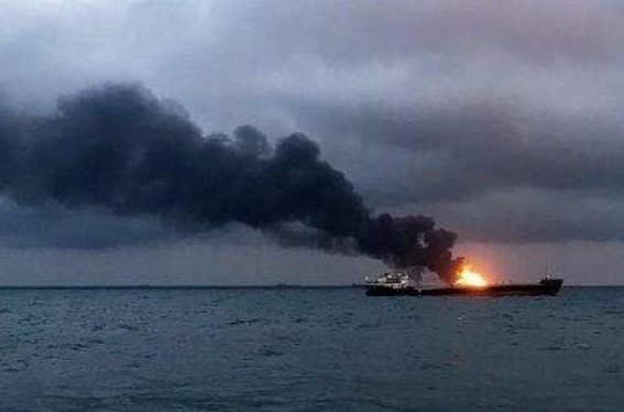 14 die as ships with Indian crew catch fire off Russia