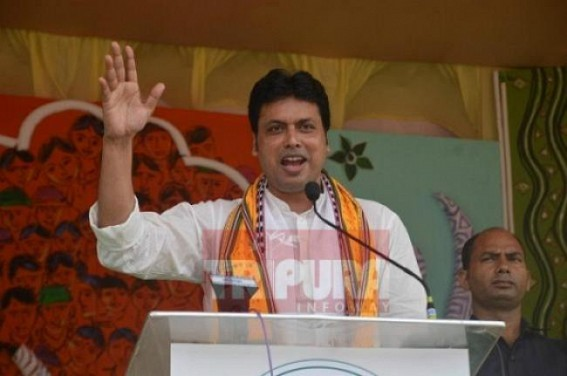 Unemployment toll spiking up : Biplab Deb calls for 'Positive Vibration' among Unemployed Youths