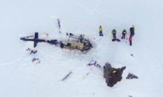 7 dead in air collision over Italian Alps