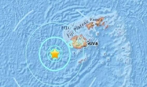 6.2-magnitude earthquake strikes Fiji island