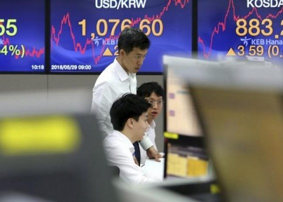 Japan's Nikkei opens lower as stronger yen dents sentiment