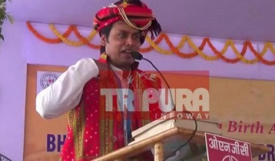 Tripura's unemployment tops in country, various Scams exposed : Biplab Deb claims 'Transparent Recruitment' in Tripura, hits Mamata Banerjee as 'Scam Experienced'