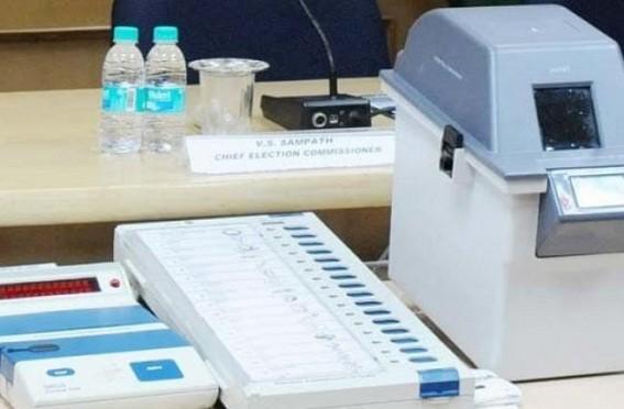 Congress alleges VVPAT 'ghotala' in Tripura