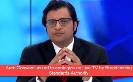 FIR lodged against Arnab Goswami