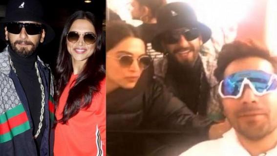 Varun 'adopts' Deepika, Ranveer as parents