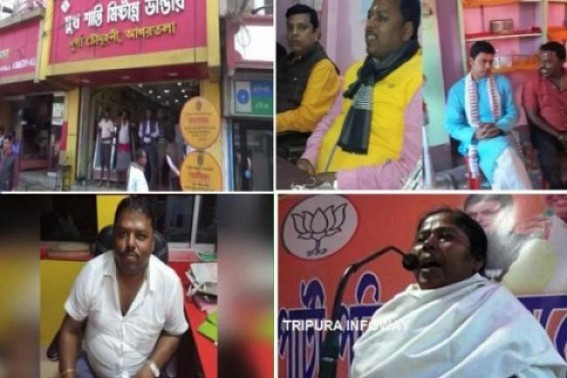 Phensedyl godowns like 'Sukh Shanti Mistanno Bhandar' to be BJP's Business-Hub in Model Tipura : Public condemn Agni-Kanya dominance over ruling BJP, Tapas turned Tripura BJP's Poster Boy