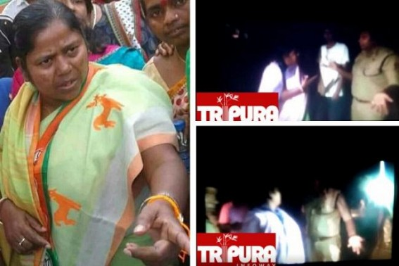 Biplab-Pratima's Criminal Empire : TIWN exclusive video footage exposed BJP MP candidate Pratima Bhowmik's criminal face, life-threat to IPS officer goes viral