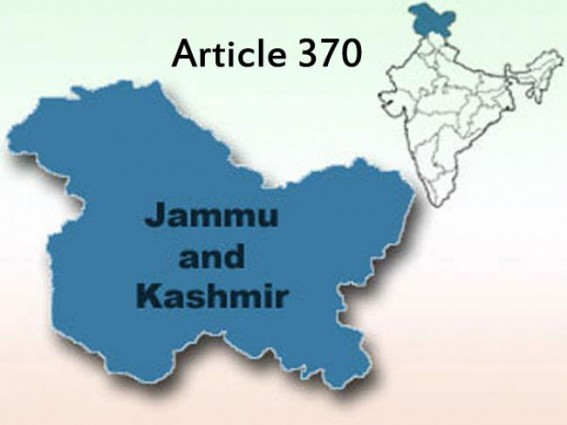 'Reject Article 370 as Kashmir's connect to India'